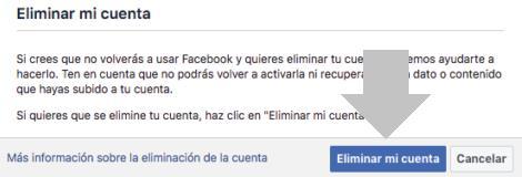 eliminar facebook desde el movil