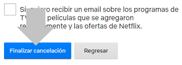 Eliminar cuenta Netflix Android