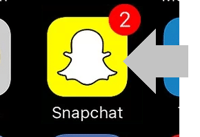 abrir app snapchat