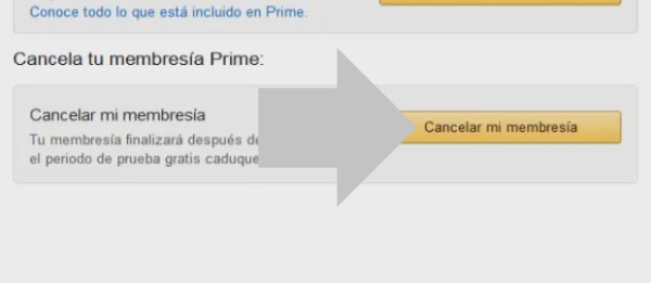 cancelar prime amazon