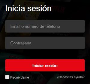 inicia sesion en tu cuenta netflix en pc