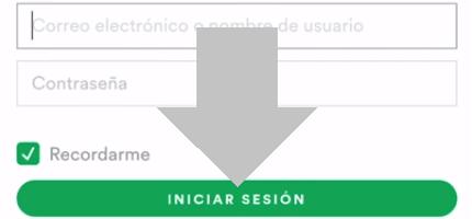 introduce tus datos de inicio de sesión