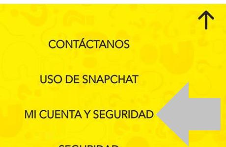 selecciona la opcion mi cuenta y seguridad dentro de la app