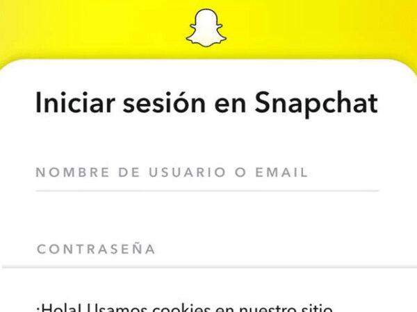 verifica tu identidad de snapchat