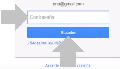 accede a la cuenta de youtube