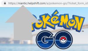 acceder a la pagina de soporte tecnico de pokemon go