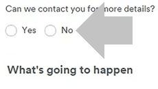 elige si quieres que te contacten o no