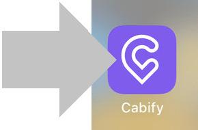 ingresa en la app de cabify