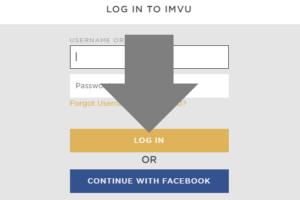 inicia sesion en IMVU