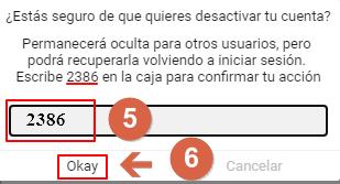 deactivar cuenta curious cat