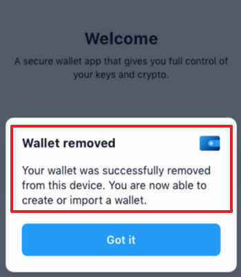 Como eliminar cuenta Bitcoin
